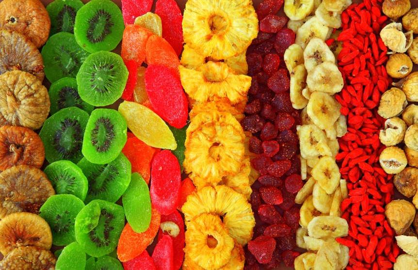 сухие фрукты