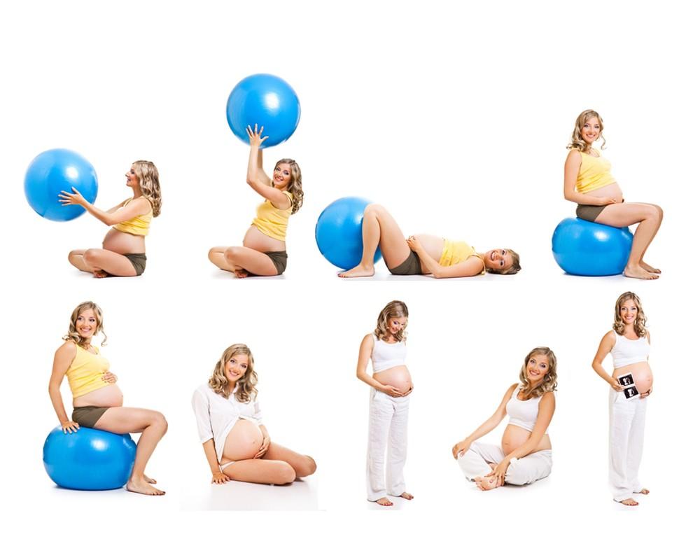 Пилатес для беременных с фитболом 3 триместр 96