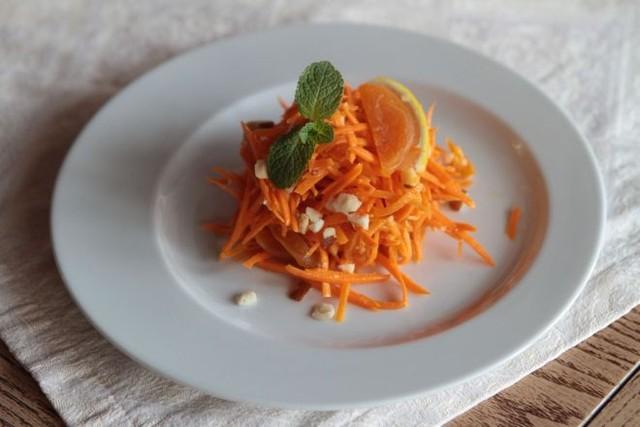 с морковкой и курагой